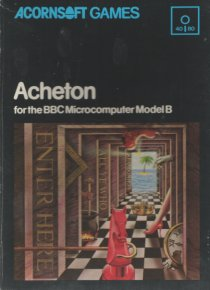 Judge a game by its cover Acornsoft-Acheton-disk