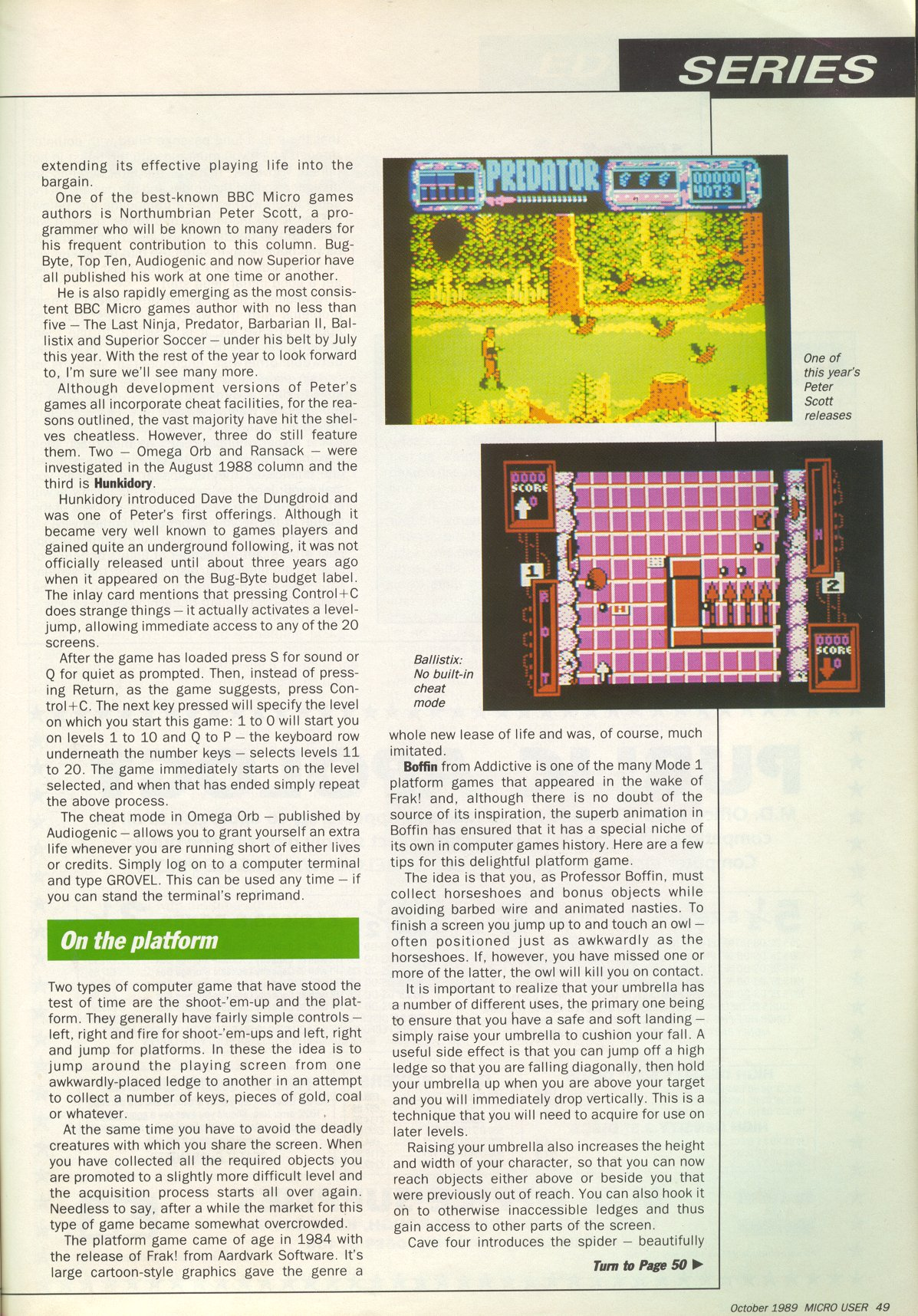 The BBC Micro and Electron Games Archive - WWW